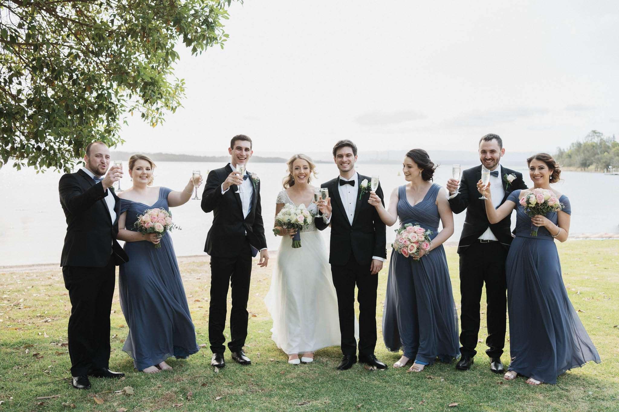 A fun wedding at Raffertys Resort Lake Macquarie